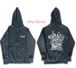 B.A.P FAN MEETING OFFICIAL GOODS -  BAP 2ND BABY DAY HOODIE