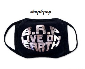 B.A.P Official Concert Goods Mask 64