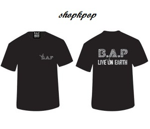 B.A.P Official Concert Goods - T-Shirt Ver.2 129