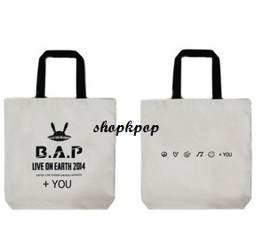 B.A.P Official Eco Bag (White) 84
