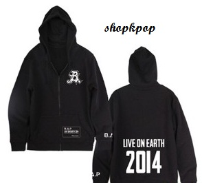 B.A.P Official Team Hoodie (Black)266