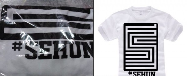 EXO SEHUN OVERDOSE T-SHIRT COLOR: WHITE SIZE: XL RM45 Include Postage