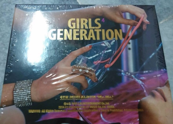GIRLS GENERATION MR.MR. ALBUM SEALED RM70 INCLUDE POSTAGE